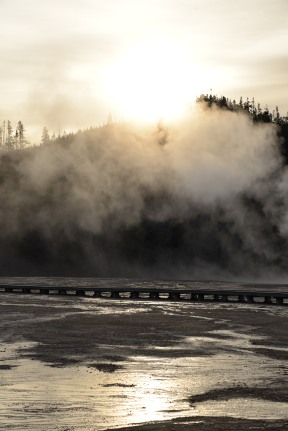 Sunrise at Grand Prismatic